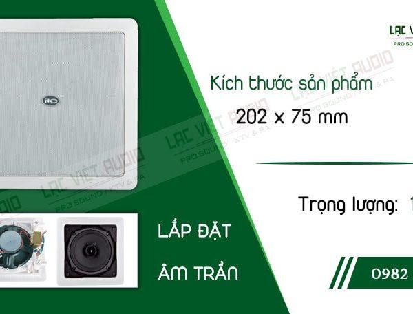 Thiết kế bên ngoài sang trọng và tinh tế của sản phẩmLoa gắn trần ITC T552