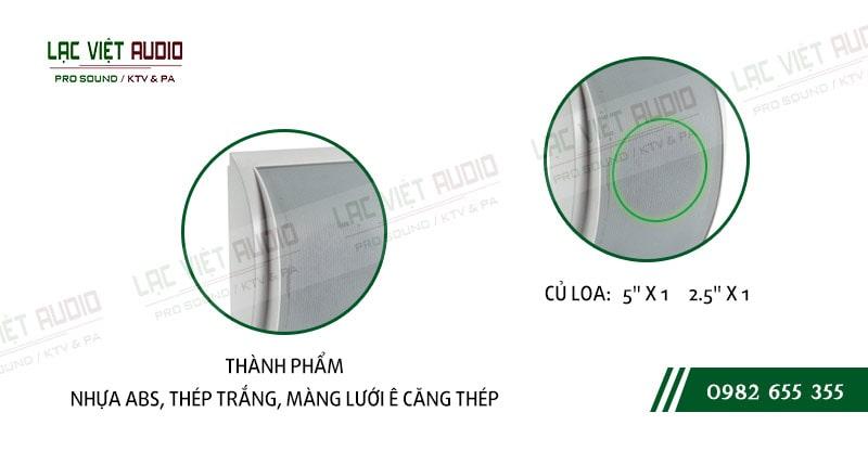 Các đặc điểm nổi bật của thiết bịLoa gắn tường ITC T611