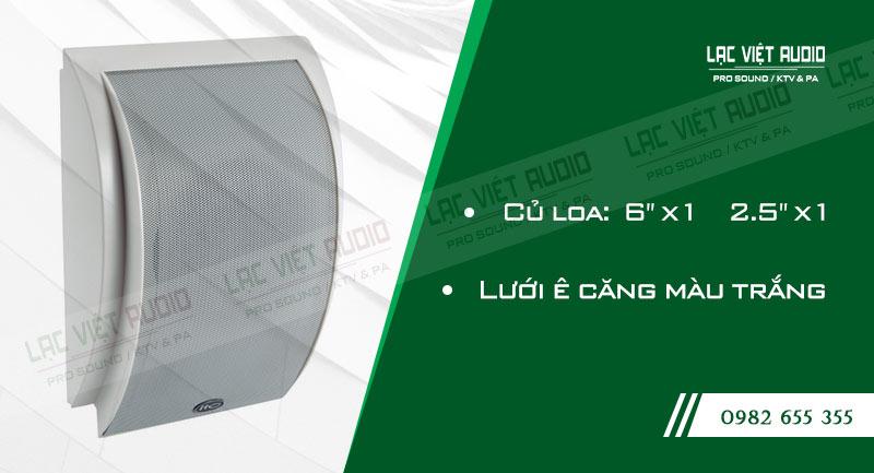 Các đặc điểm nổi bật của thiết bịLoa gắn tường ITC T612