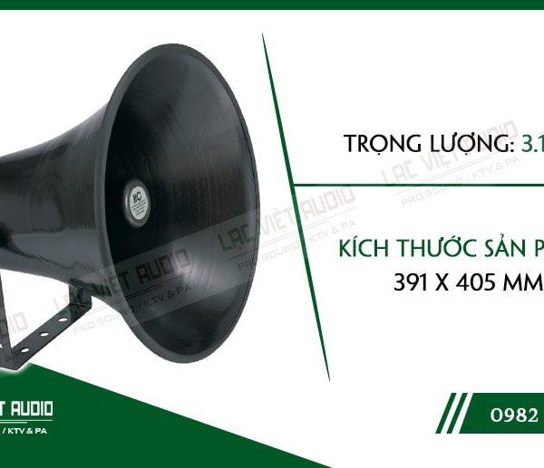 Thiết kế bên ngoài sang trọng và tinh tế của sản phẩmLoa nén ITC T710B