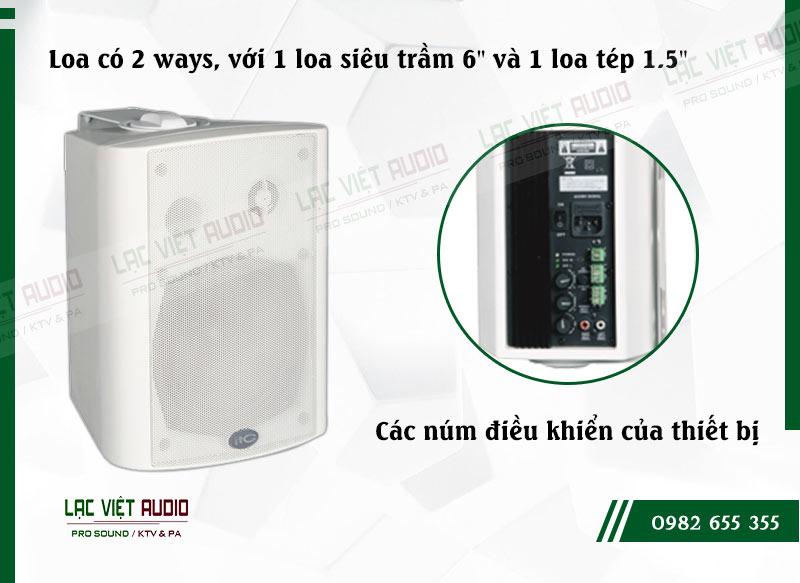 Các đặc điểm nổi bật của sản phẩmLoa gắn tường ITC T776AW
