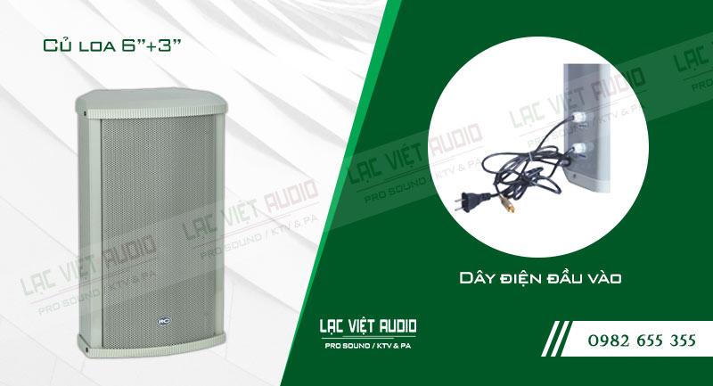 Thiết kế bên ngoài của sản phẩmLoa cột ITC T901P