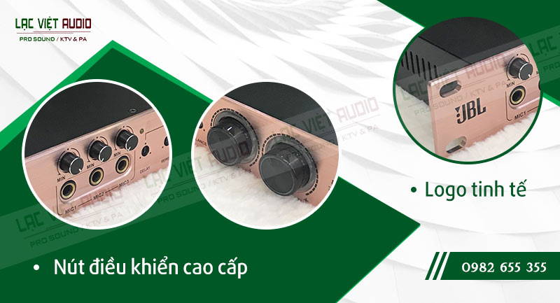 Các đặc điểm nổi bật của sản phẩmVang cơ JBL K8