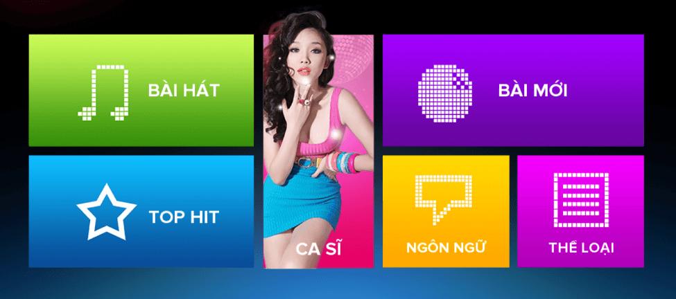 Cách sử dụng màn hình cảm ứng karaoke