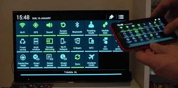 Kết nối điện thoại với tivi qua wifi