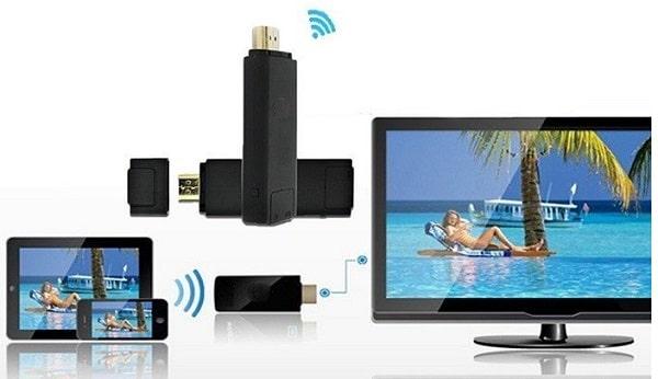 Kết nối máy tính với tivi qua wifi