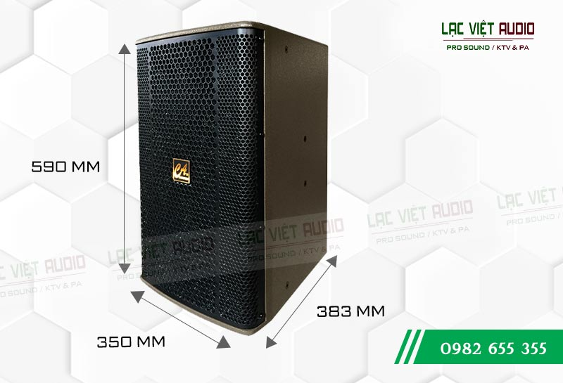 Kích thước Loa CA Sound F-912