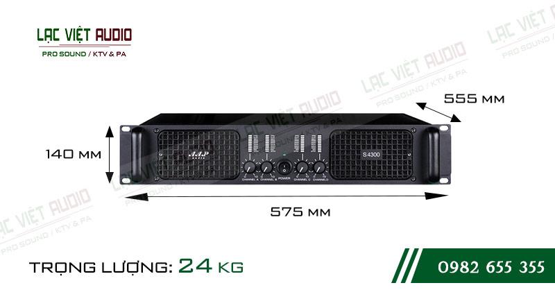Kích thước cục đẩy công suất AAP S4300
