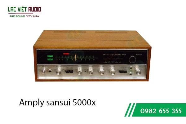 Amply sansui 5000x ghép với loa gì