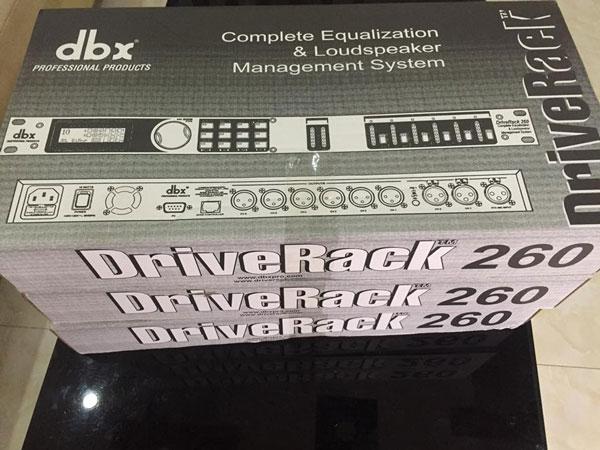 Lạc Việt Audio phân phối DBX DriveRack 260