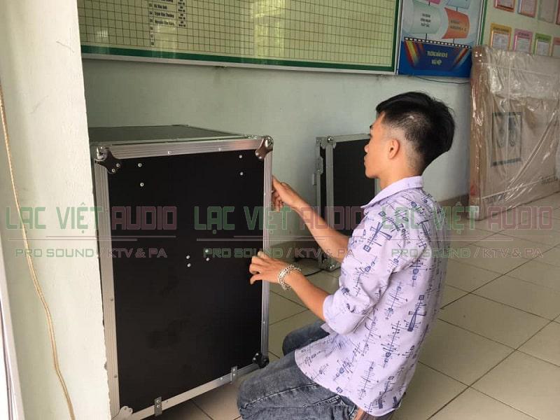 Lạc Việt audio lắp đặt các thiết bị âm thanh