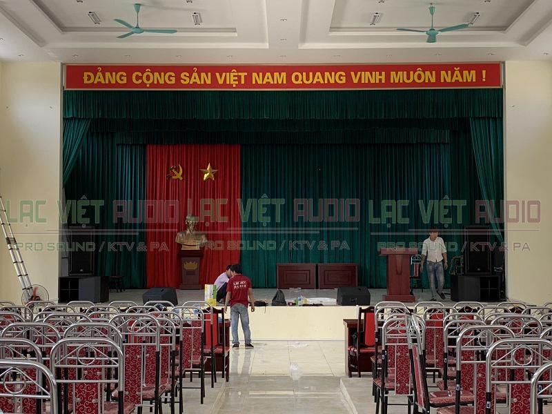 Lạc Việt Audio lắp đặt âm thanh hội nghị