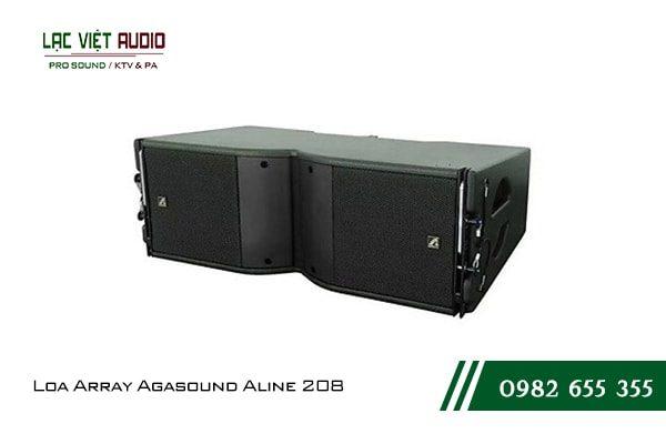 Giới thiệu về sản phẩm Loa Array Agasound Aline 208