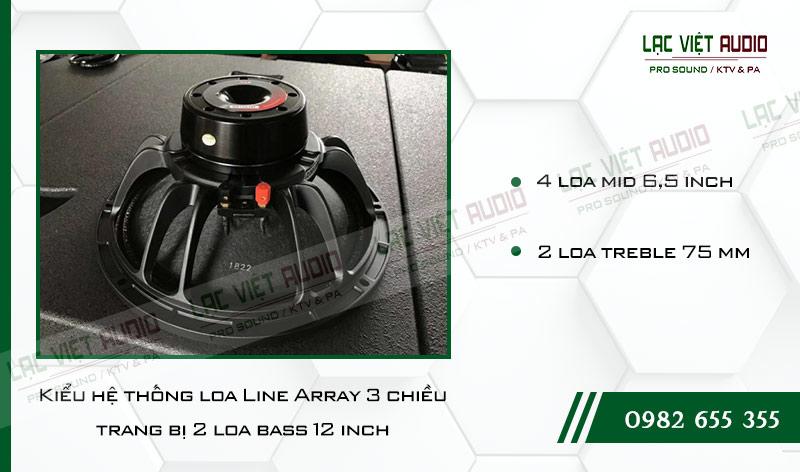 Các tính năng độc đáo của sản phẩm Loa Array VAS LA2