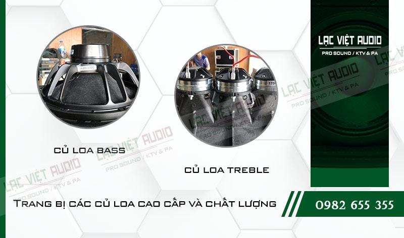 Các tính năng độc đáo của sản phẩm Loa Array VAS LA6