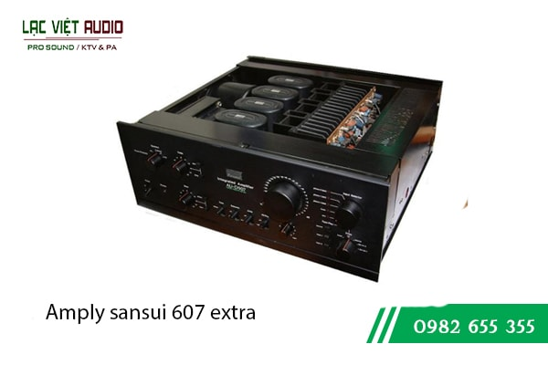 Amply sansui 607 extra