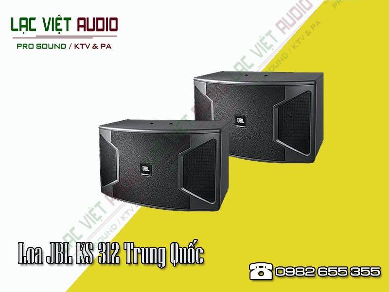 Thiết kế bên ngoài của sản phẩmLoa JBL KS 312 Trung Quốc