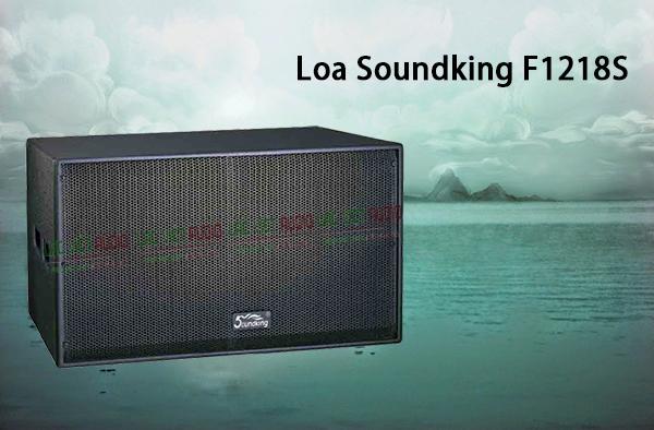 Thiết kế bắt mắt của Loa Soundking F1218S
