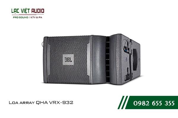 Giới thiệu về sản phẩm Loa array QHA VRX932