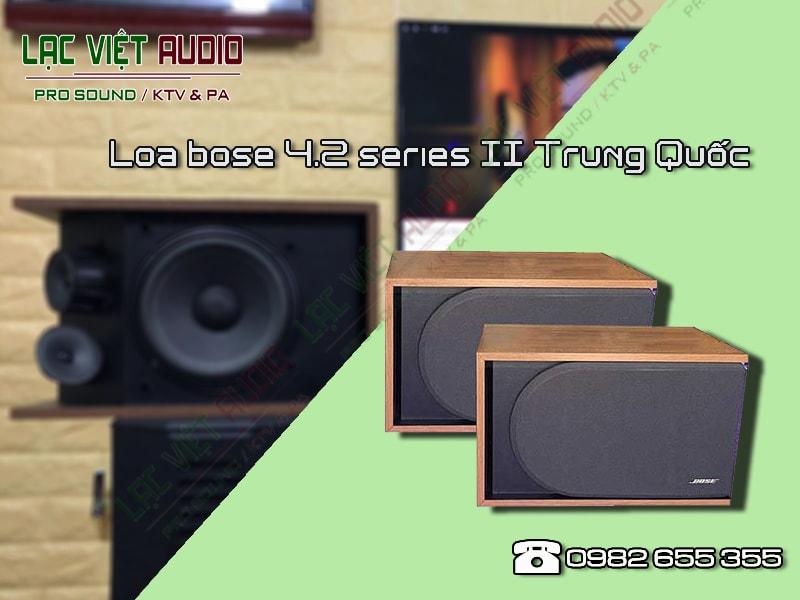 Thông số kỹ thuật của sản phẩmLoa bose 4.2 series II Trung Quốc.