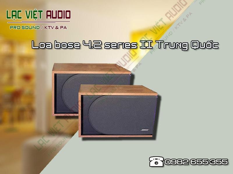 Có nên sử dụng sản phẩmLoa bose 4.2 series II Trung Quốc không?
