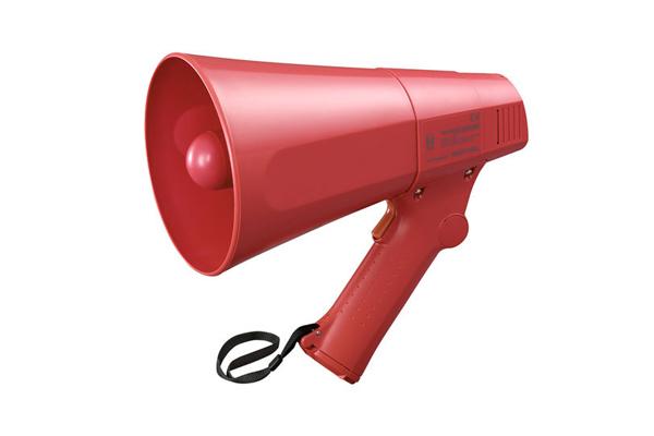 Loa cầm tay 6W có còi hụ màu đỏ TOA ER-520S
