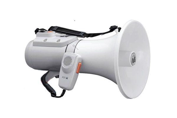 Loa phát thanh đeo vai 15W có còi hụ TOA ER-2215W