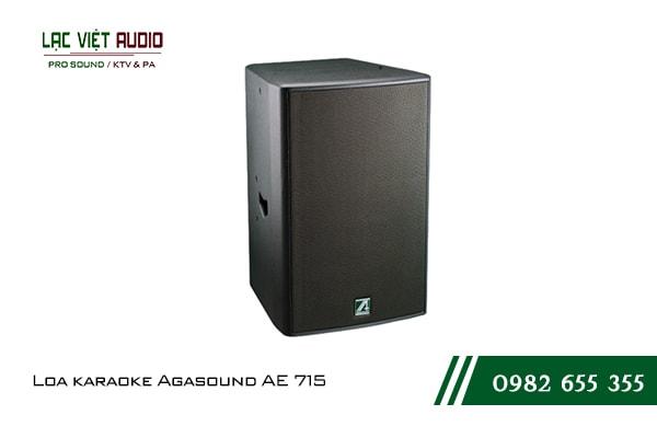 Giới thiệu về sản phẩm Loa karaoke Agasound AE 715
