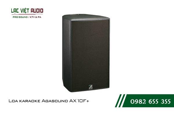 Loa karaoke Agasound AX 10F+