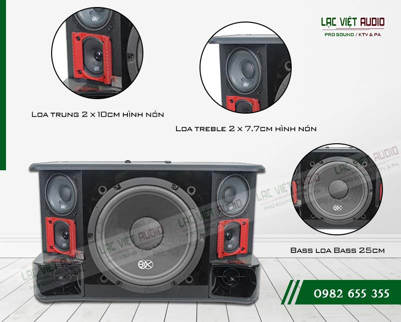 Các tính năng nổi bật của sản phẩmLoa BIK BJ S1010