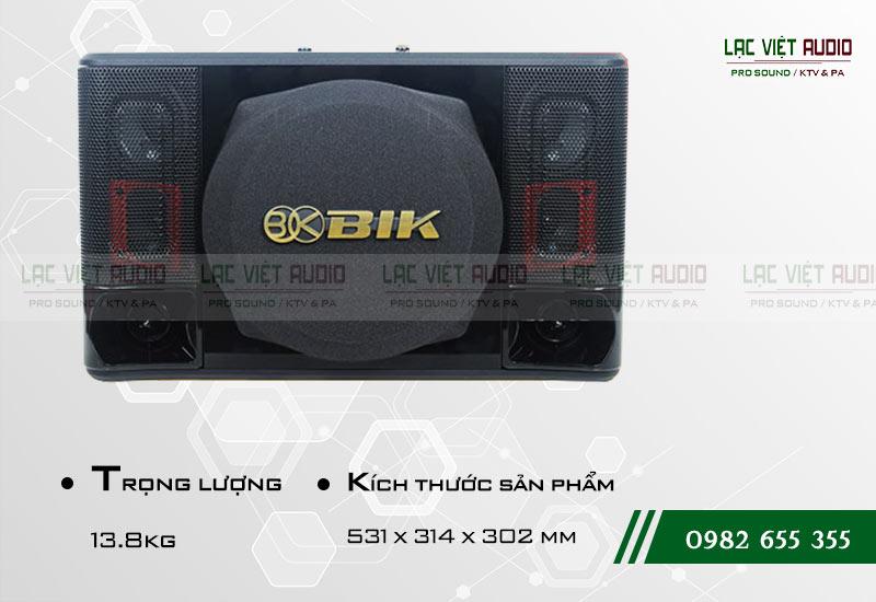 Các thiết kế bên ngoài của sản phẩmLoa BIK BJ S1010