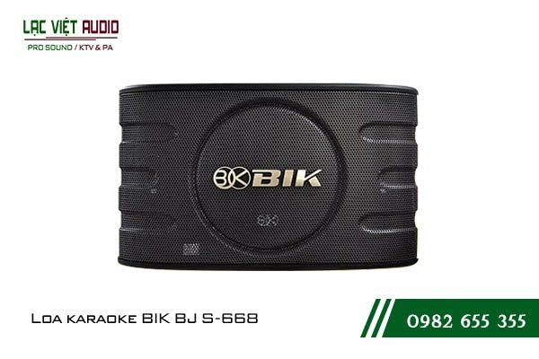 Giới thiệu sản phẩmLoa BIK BJ S668