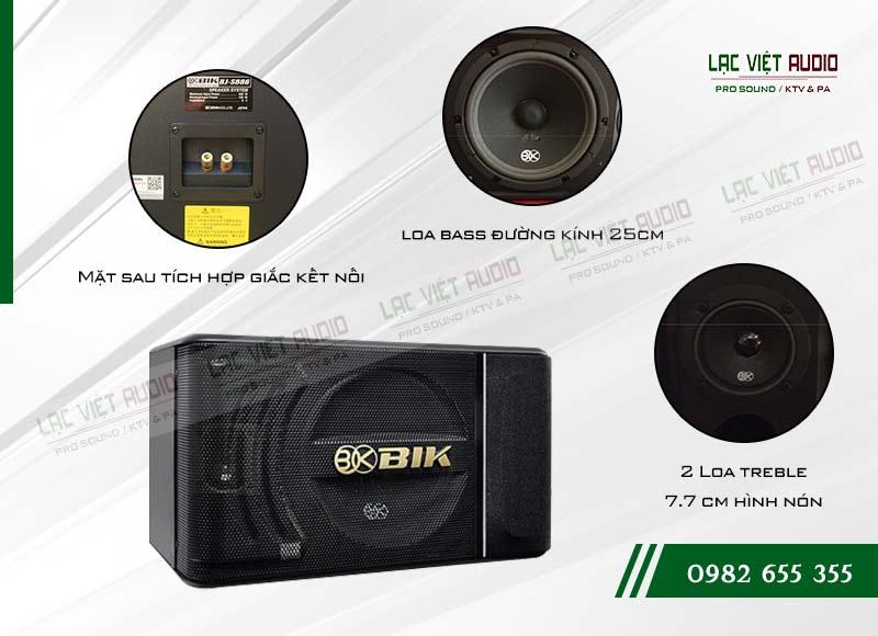 Các tính năng nổi bật của sản phẩmLoa BIK BJ S886