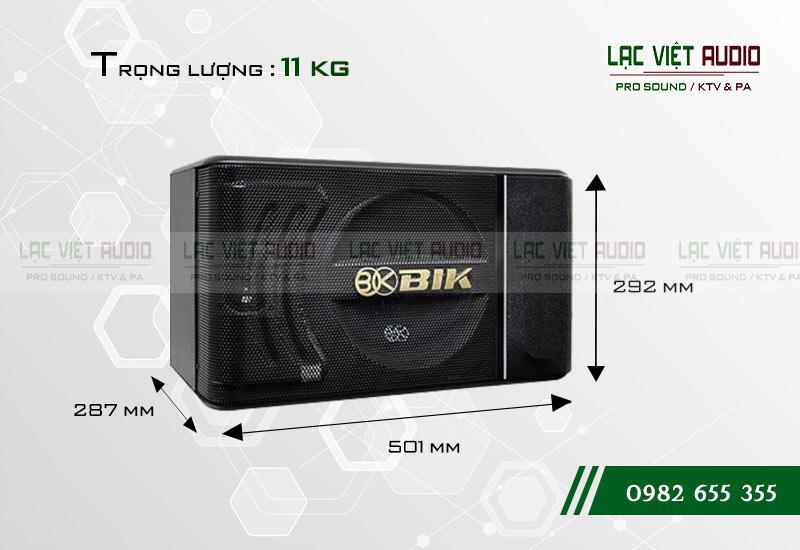 Các thiết kế bên ngoài của sản phẩmLoa BIK BJ S886