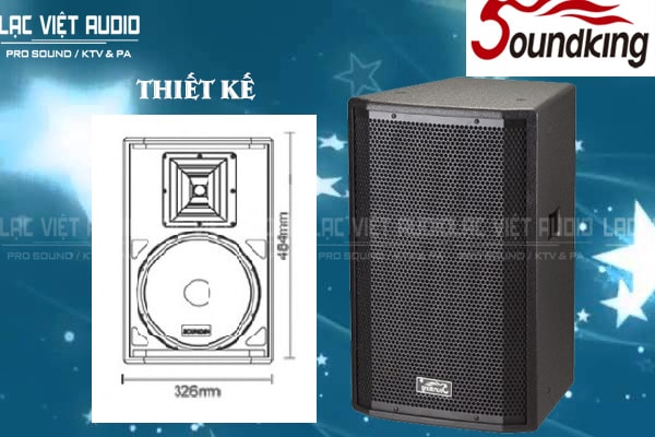 Thiết kế Loa soundking H10