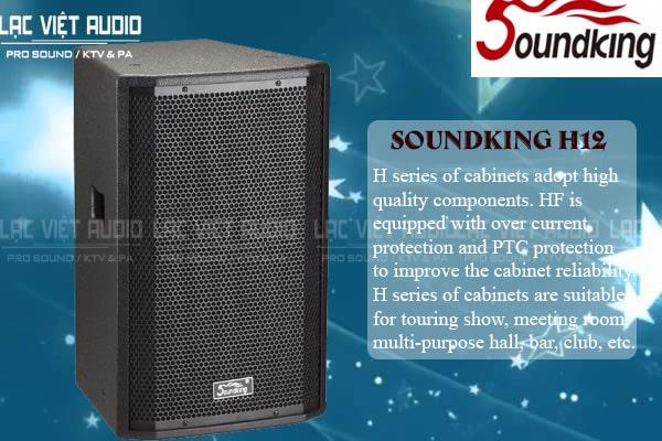 Tính năng sản phẩm Loa soundking H12