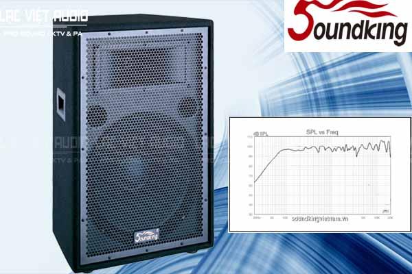 Loa soundking J215 có dải tần số siêu rộng