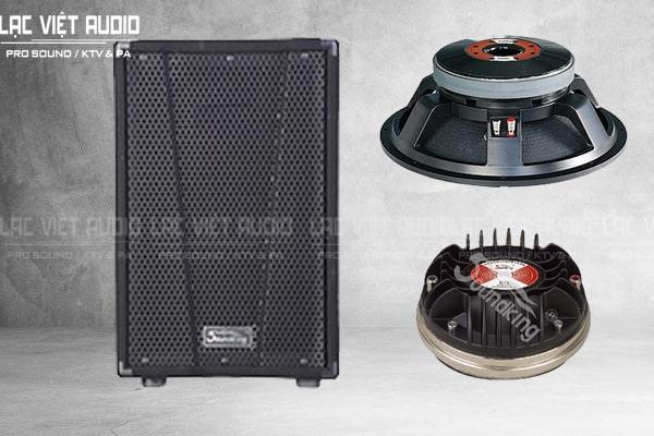 Thiết kế củ loa bass sản phẩm Loa soundking KJ15