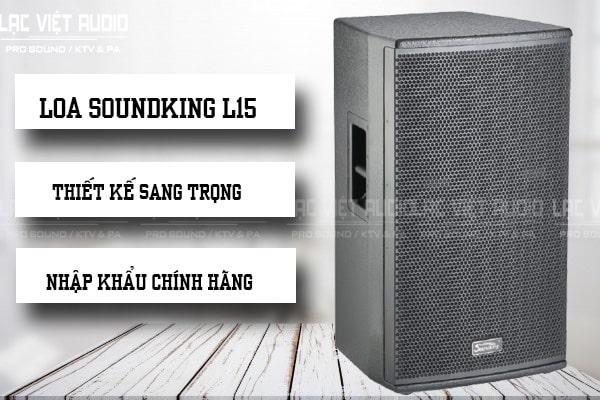 Loa Soundking L15 chính hãng