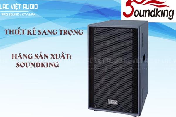 Thiết kế sản phẩm Loa soundking F212