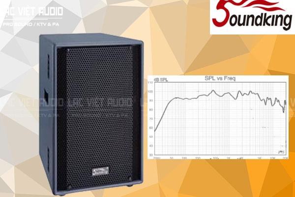 Dải tần số Loa soundking F215
