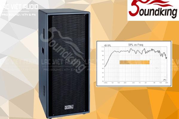 Dải tần số sản phẩm Loa soundking F2215
