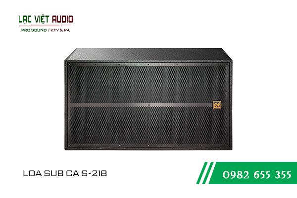Loa sub CA Sound S-218