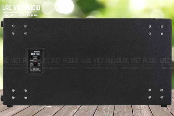 Mặt sau của sản phẩm Loa whafedale DELTA 218B