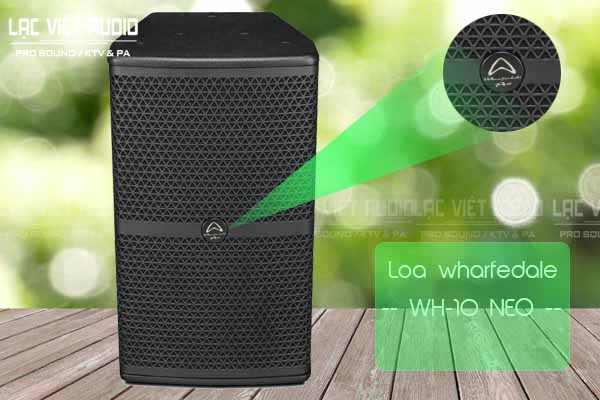 Thiết kế sản phẩm Loa whafedale WH-10 NEO