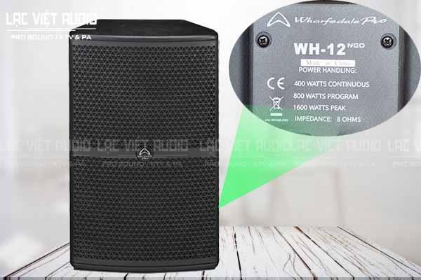 Tính năng sản phẩm Loa whafedale WH-12 NEO