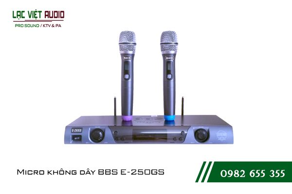 Giới thiệu về sản phẩmMicro BBS E 250GS
