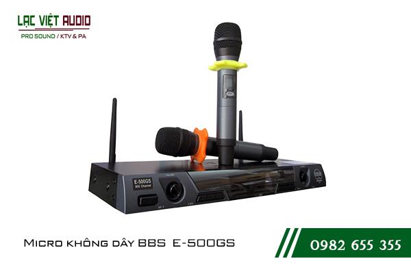Giới thiệu về sản phẩmMicro karaoke BBS E500GS
