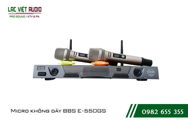 Giới thiệu về sản phẩmMicro không dây BBS E550GS