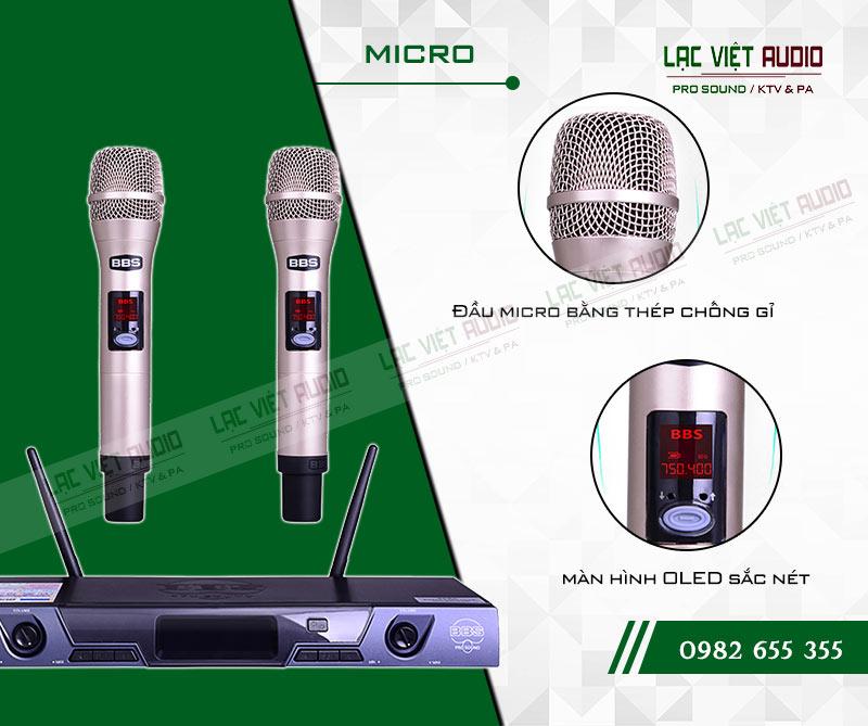 Các tính năng độc đáo và nổi bật nhất của sản phẩmMicro BBS S135GS